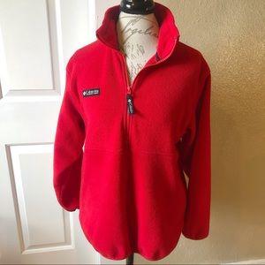 Vintage Columbia 3/4 zip pullover fleece